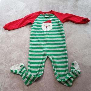 💕3/$10💕 Carters Santa pajamas 5t